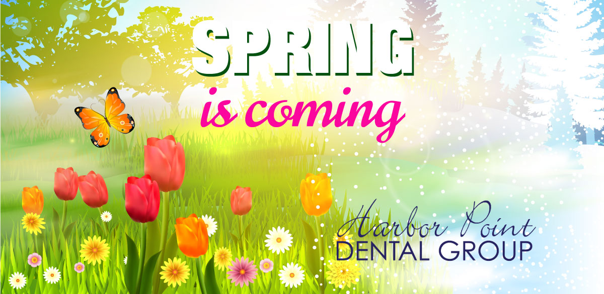 spring dental cleaning at harbor point dental group in stamford, ct